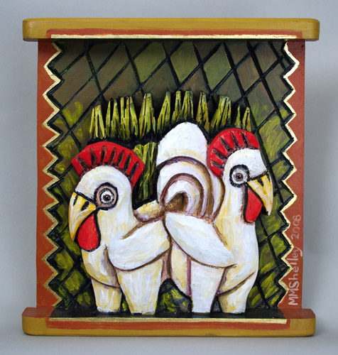 Chickens, Hen and Rooster #5 copy