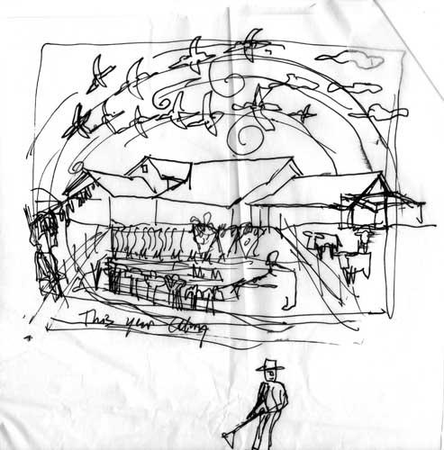 Farm sketch rough