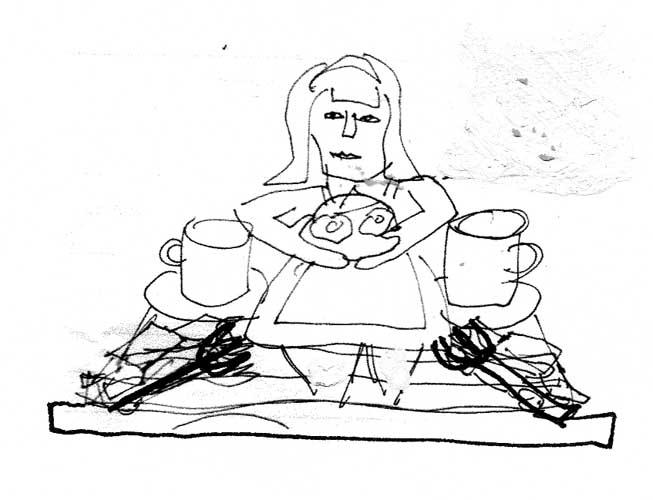 Diner Icon Sketch