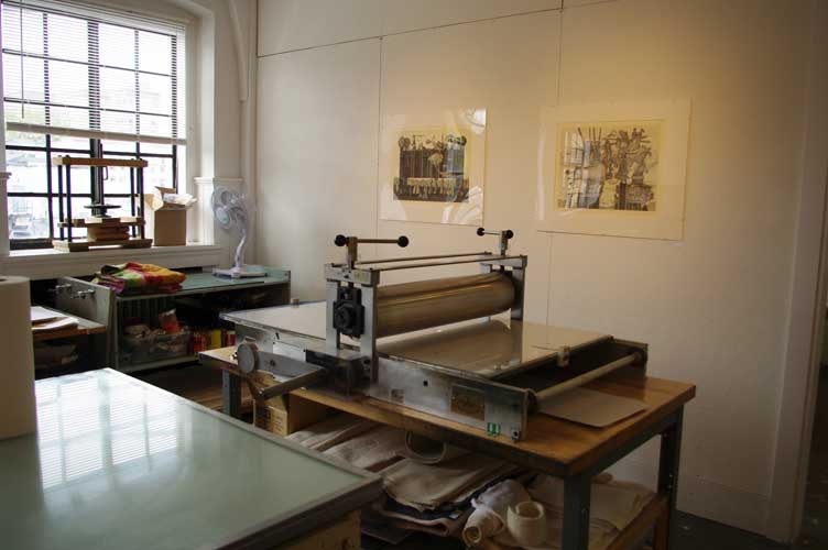 Bird Print Ink Shop Press