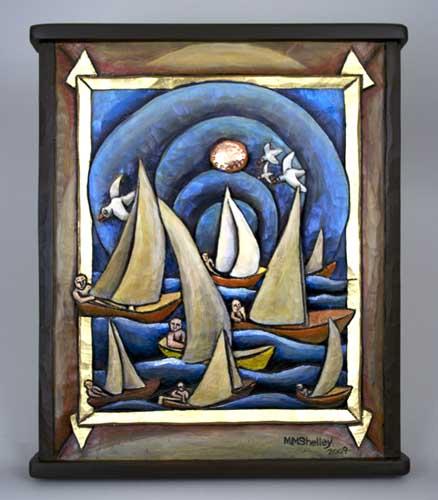 Sailing Round Sky, Mary Shelley