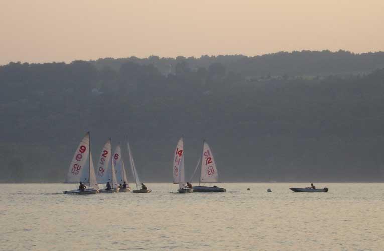 Sailing photo for blog