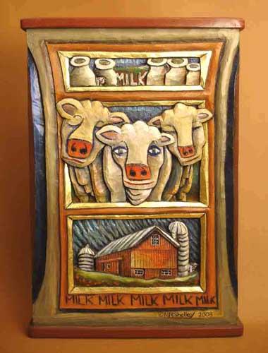 Triple Decker cows