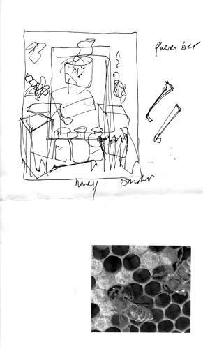 Beekeeping sketch 1