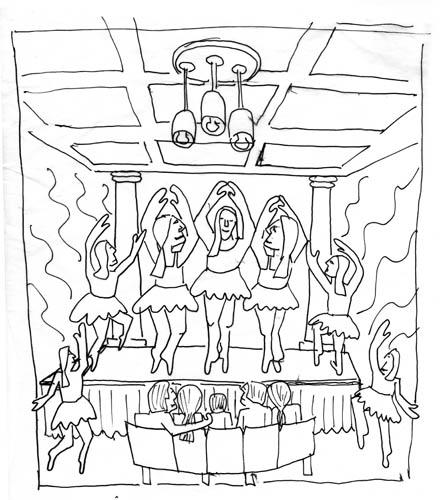 Dancers Sketch 2