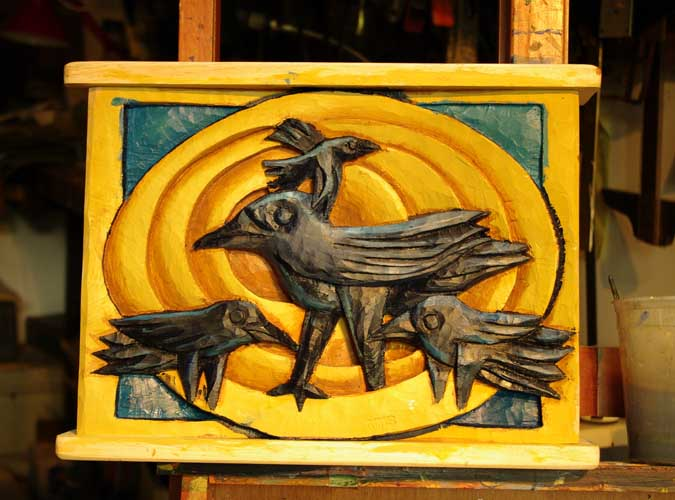 Crows in circle 10