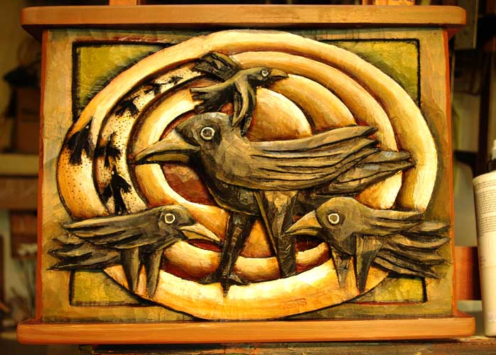 Crows in circle 16