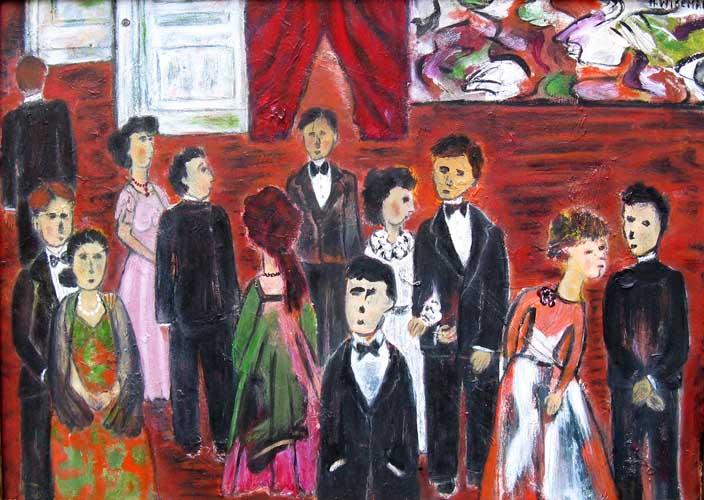 Harriet Wiseman painting