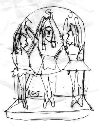 Dancer sketch 1