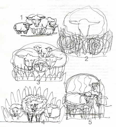 Sheep sketches copy 2