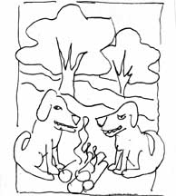 Guard Dogs Campfire sketch # 22