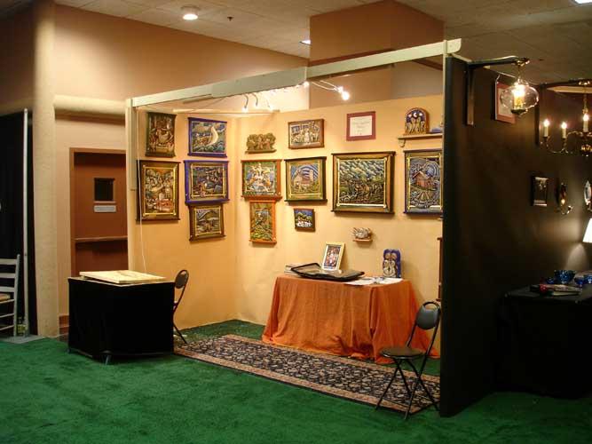 Craftshow booth