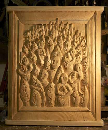 Wood spirits 1
