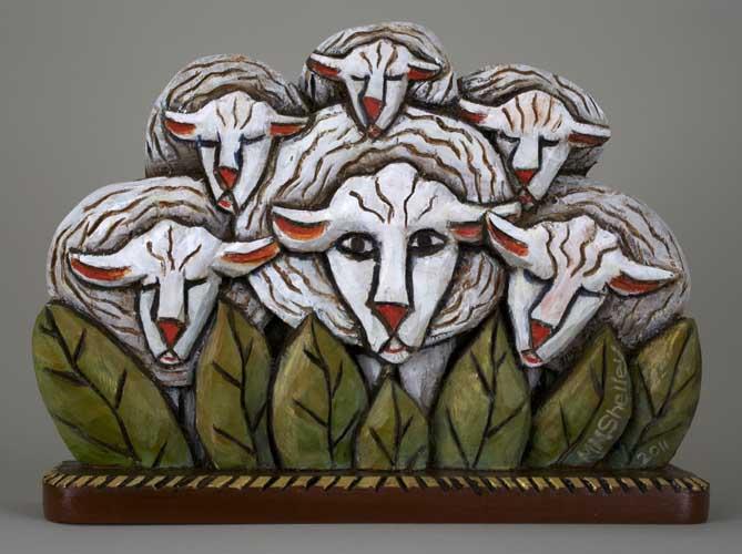 Sheep Icon #16 3
