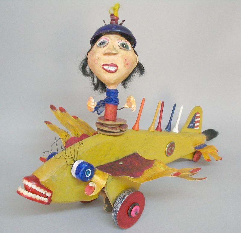 Thelma Flies Again,  Linda Lou Horn  20x13x14