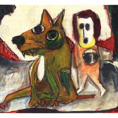 John Swinton Acid Yellow Dog:Spoiled Mutt