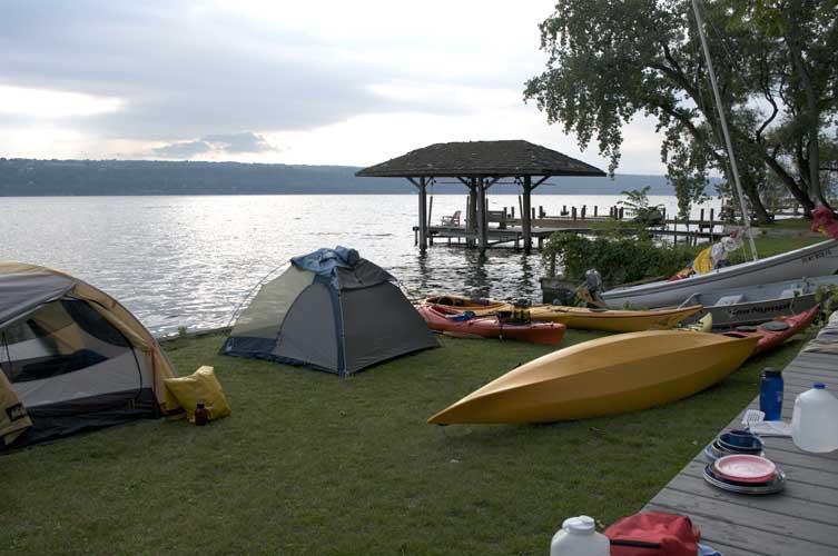 Lake kayaks