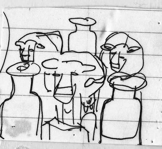 Cow icon 5 sketch