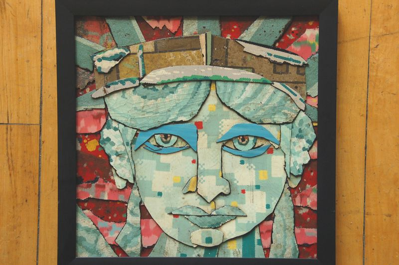 B ill Millerface-of-liberty-12x12