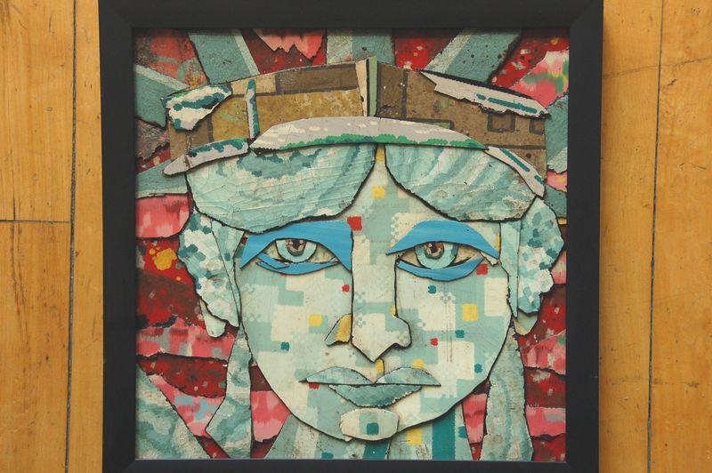 B ill Millerface-of-liberty-12x12