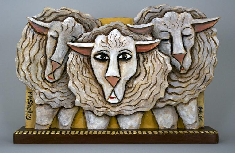 Sheep Icon # 21 copy