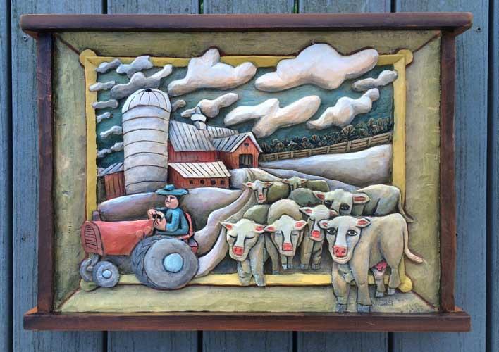 Painting barn 23 13