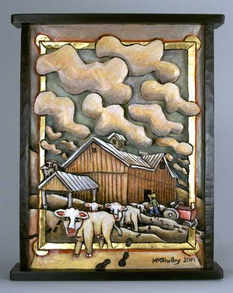 Barn, commission for Kathy and sasha