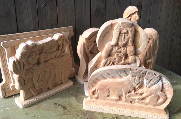 Carving jumble