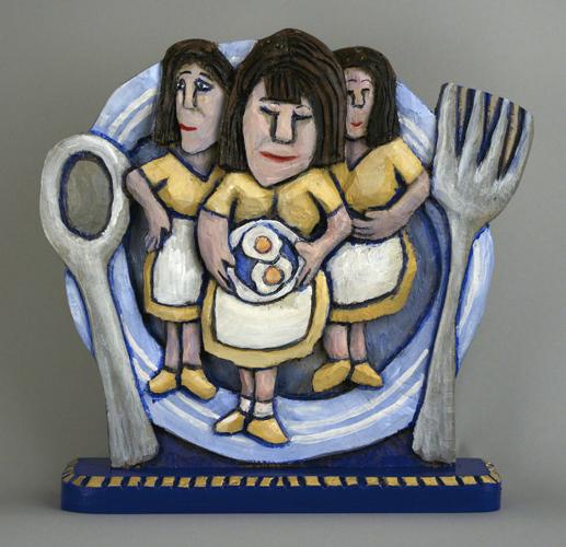 Diner Waitress Icon 13