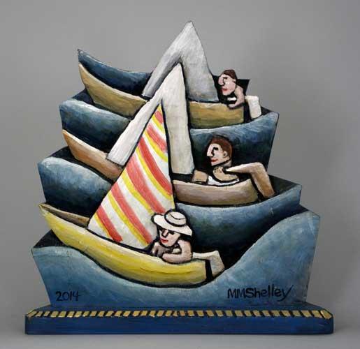 Sailing Race Icon #26 copy