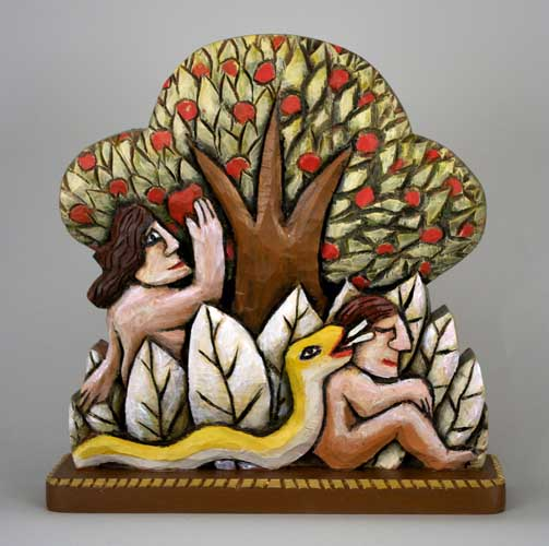 Adam and Eve (Yellow Snake) #10 copy