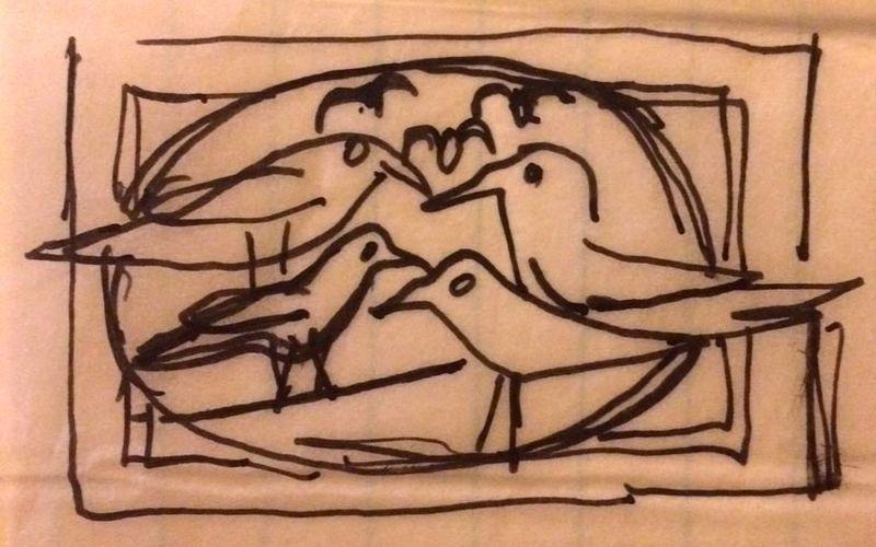 Crows sketch