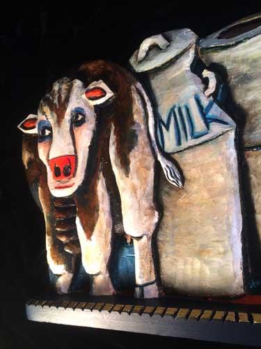 Cow 11 closeup