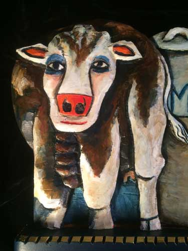 Cow Icon 11 close up 3
