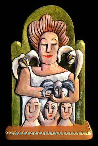 Guardian Angel with Birds and Loved ones copy 2