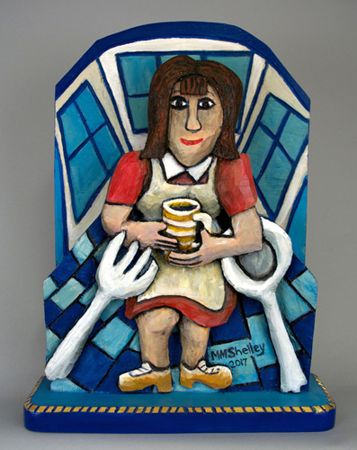 Waitress Icon 12 repainted