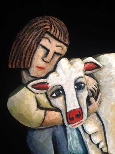 Cow 10 closeup
