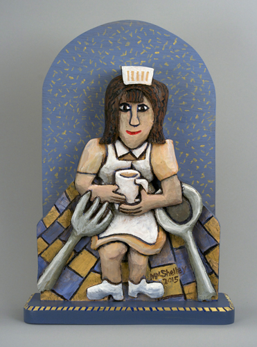 Diner Waitress Icon 12 small