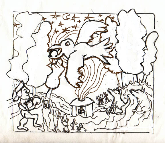 Sketch battisti Raven